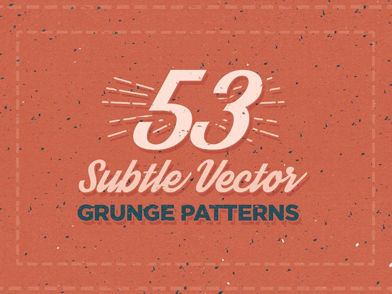 53 Subtle Vector Grunge Patterns patterns pattern subtle pattern subtle patterns subtle vector illustration vector pattern vector patterns grunge vector grunge