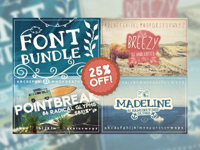 Handsketched Font Bundle