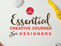 20 Essential Creative Courses for Designers