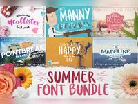 Summer Font Bundle