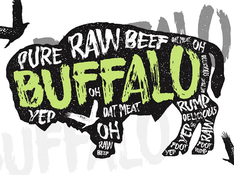 Buffalo - Typeface typography calligraphy handdrawn font slab serif font handmade font handsketched font fonts buffalo font
