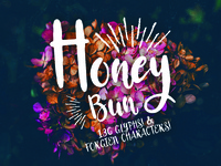 Honey Bun - Typeface