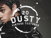 20 Dusty Vintage Textures