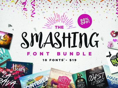The Smashing Font Bundle