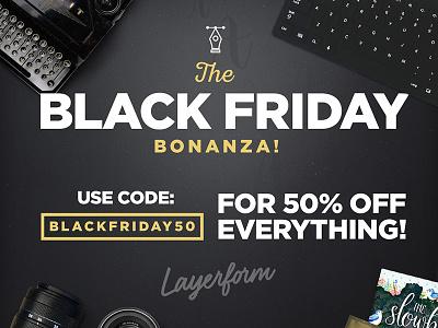 Black Friday Bonanza! offer christmas blackfriday deal bundles deals black friday