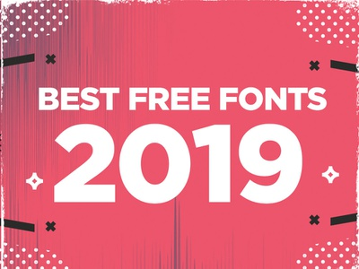 Best Free Fonts for 2019 typography scriptfont typographt fonts font free freefonts bestfonts bestfreefonts