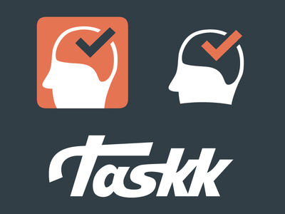 Taskk Branding logo branding handdrawn