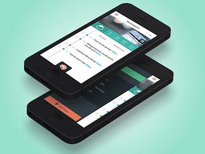 Taskk iOS ios iphone green mobile