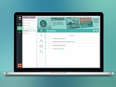 Taskk Manage ui layout wireframe keynote