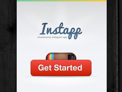 Instapp knockout.js instagram