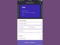 Credit Card Form - DailyUI No. 002