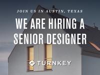 We're hiring a Sr Visual Designer