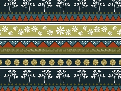 Pattern Collection - 2020/01 surfacedesign illustration graphicdesign flat design
