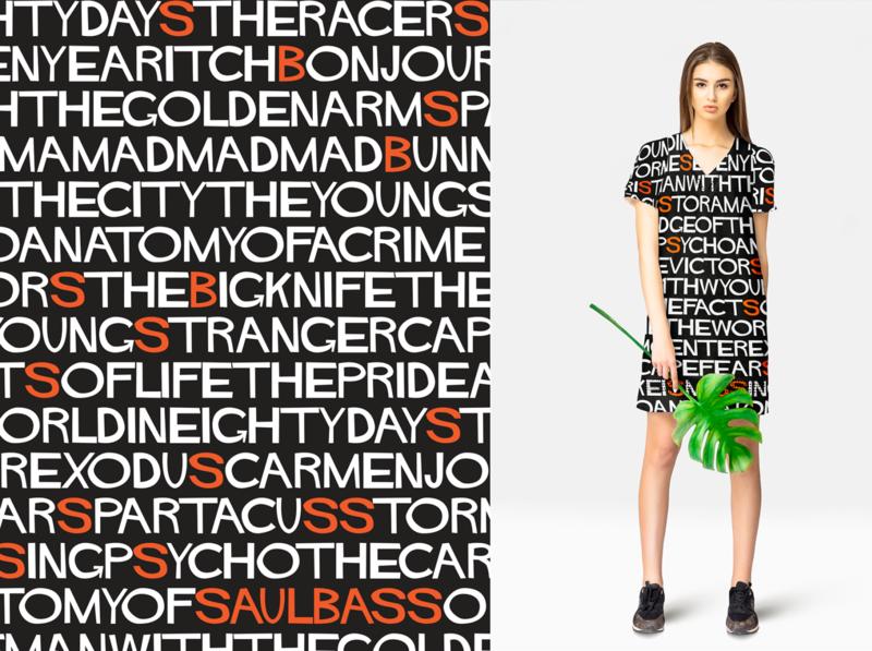 Saul Bass Pattern digitalpainting adobefresco procreate surfacedesign illustration graphicdesign design