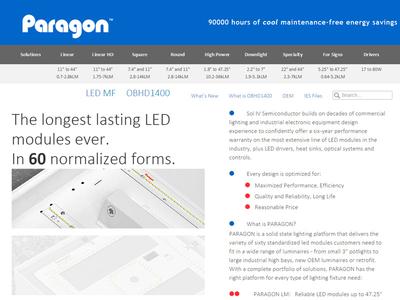 Paragon LED Homepage