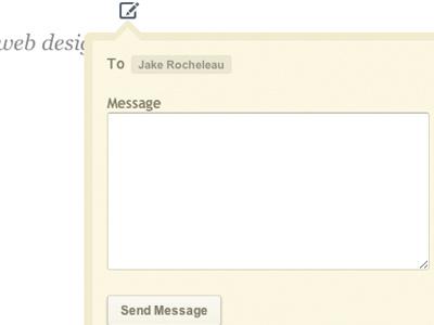 jQuery PM Modal Box jquery modal message css3 tutorial code pm private ajax sliding demo