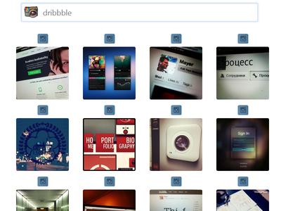 Instagram Ajax Instant Photo Search