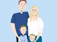 Family Portrait Coloured!