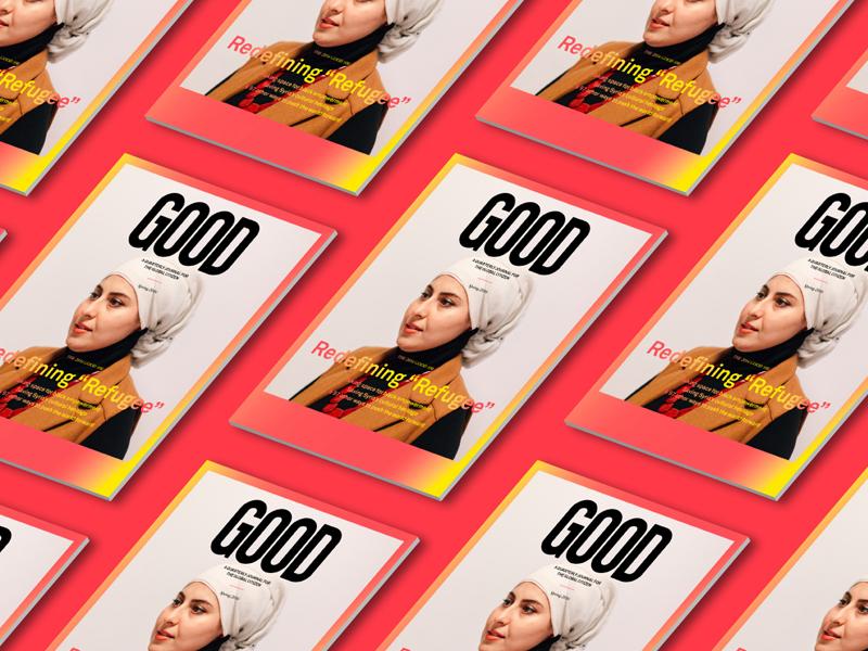 GOOD Magazine: Issue 36 layout print cover good magazine