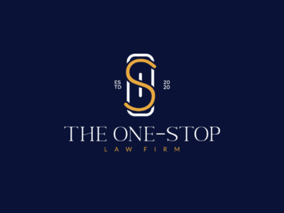 The One-Stop Law Firm - Logo Concept logo designer logo design logo concept logomaker logo type logomark logo design identity identity design branding brand identity brand