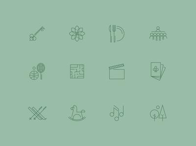 Cristallo icons