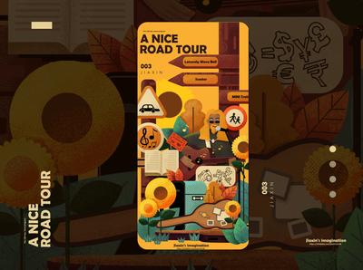 A nice road tour。