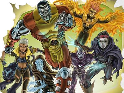 X-Men Illustration
