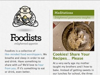 Foodists Website