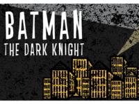 Batman vector poster