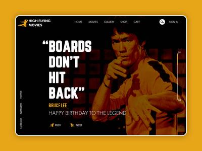 Happy Birthday Bruce Lee