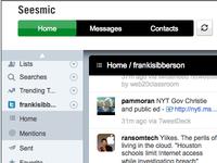 Seesmic Web Design