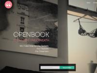 OpenBook homepage