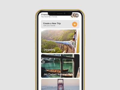 User Interface Design uidesign travel app ui travel app uiux ui