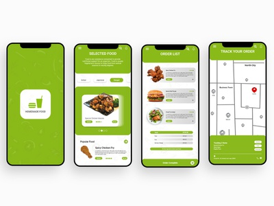 User Interface (Food App Design) user experience user interface ui ux food order app food app ui food app