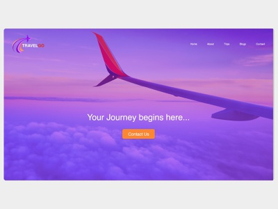 Travel Website UI Design ui ux travel app travel ui website design ux design userinterface ui design travel website