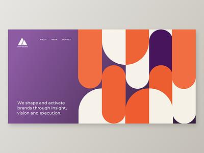 Web User Interface Design ux design ui web uiux branding illustration web app website builder web ui uidesign uiux