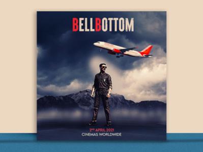 Movie Poster Design bellbottom graphic design design poster movie poster