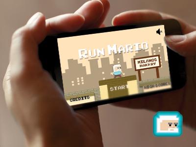 Runmario run game free app android