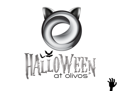 Halloween at Olivos logo spooky restaurant olivos halloween