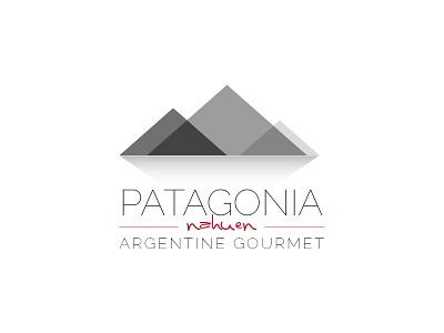 Patagonia Nahuen restaurant logo mountains patagonia nahuen