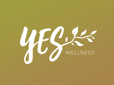Y.E.S. natural branch logo olives spa wellness