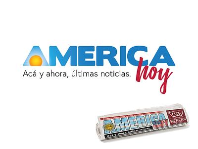 America Hoy fresh newspaper tweak redesign logo