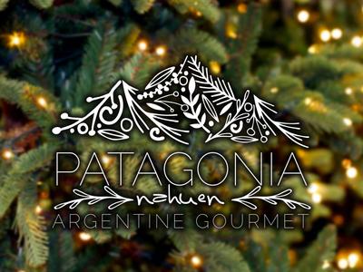 Holiday variation of the Patagonia Logo illustration patagonia logo holiday