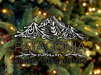 Holiday variation of the Patagonia Logo