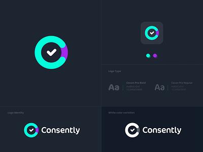 Consently Branding & Product Design ux design ui design product design branding logodesign