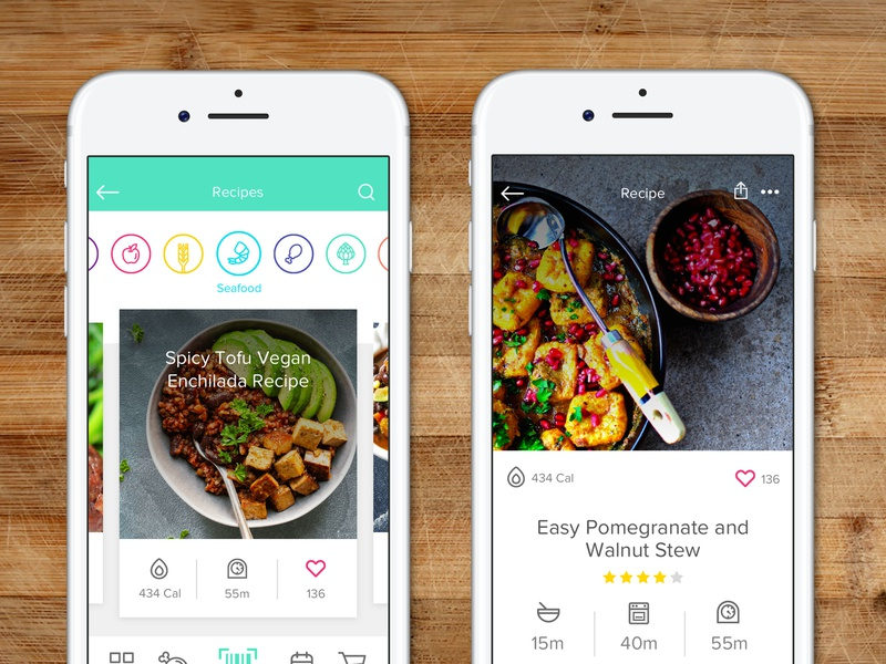 Food Label Scanner App Design by Andrew Rice on Dribbble