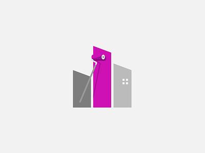THE PAINTERS creative inspiration design illustration vector flat logo identity icon branding
