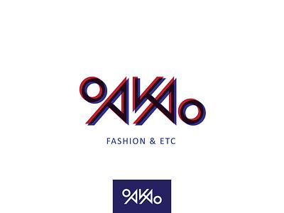 OAKAO   Daily logo challenge 06 challenge brand graphicdesigner graphic design logo designer fashion brand logo design lettering dailylogodesign dailylogo dailylogochallenge vector minimal inspiration typography design branding logo illustration creative