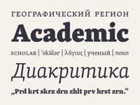Skolar Latin and Cyrillic