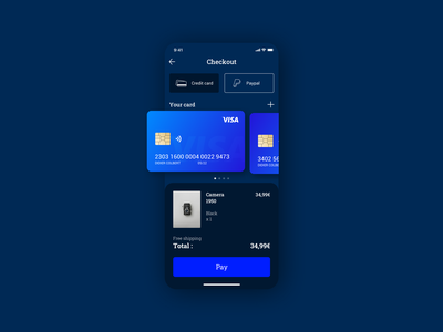 Daily UI challenge #002 💳 daily 100 challenge ui sketch